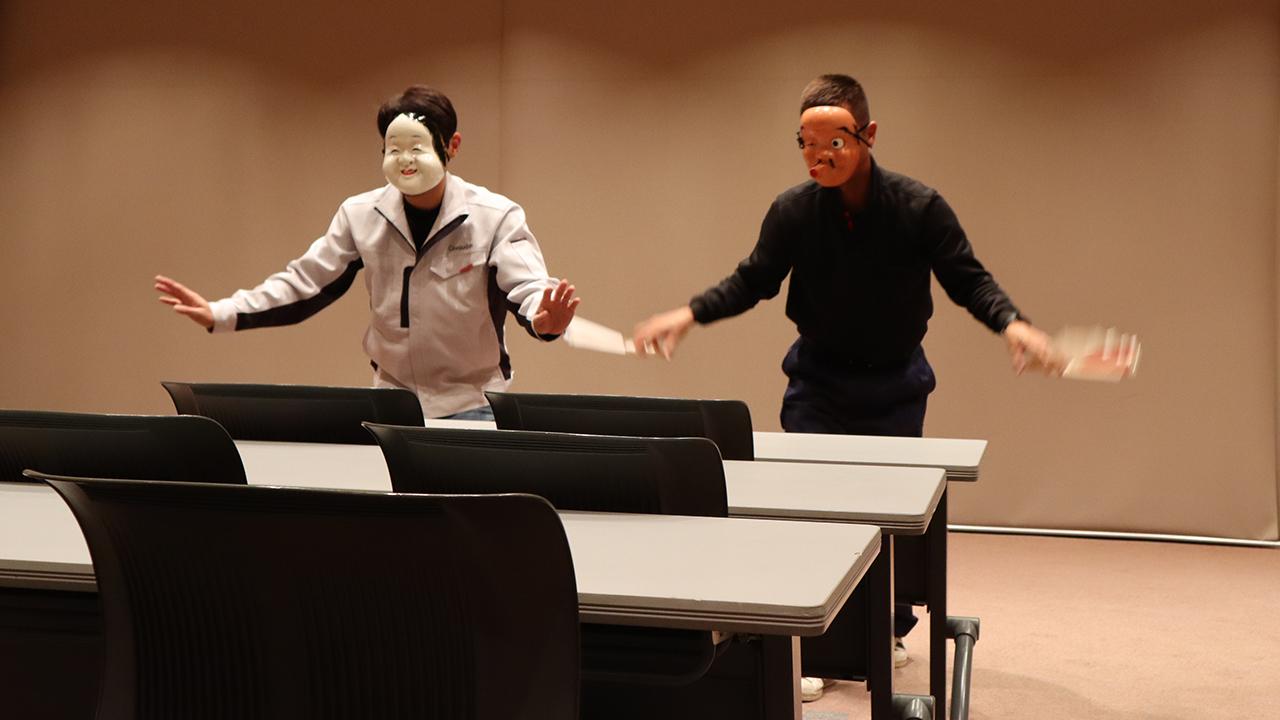 令和元年12月の手古舞練習風景14