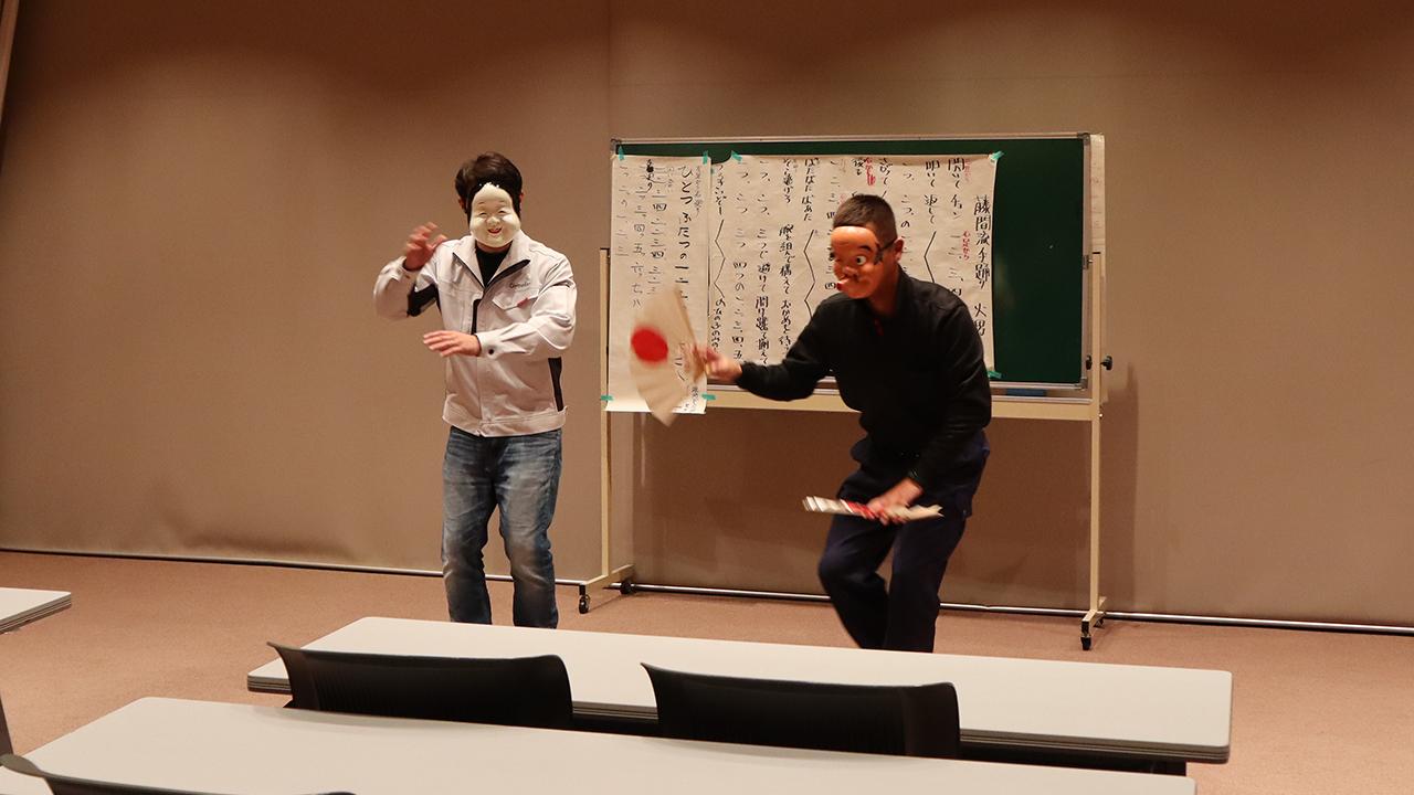令和元年12月の手古舞練習風景8