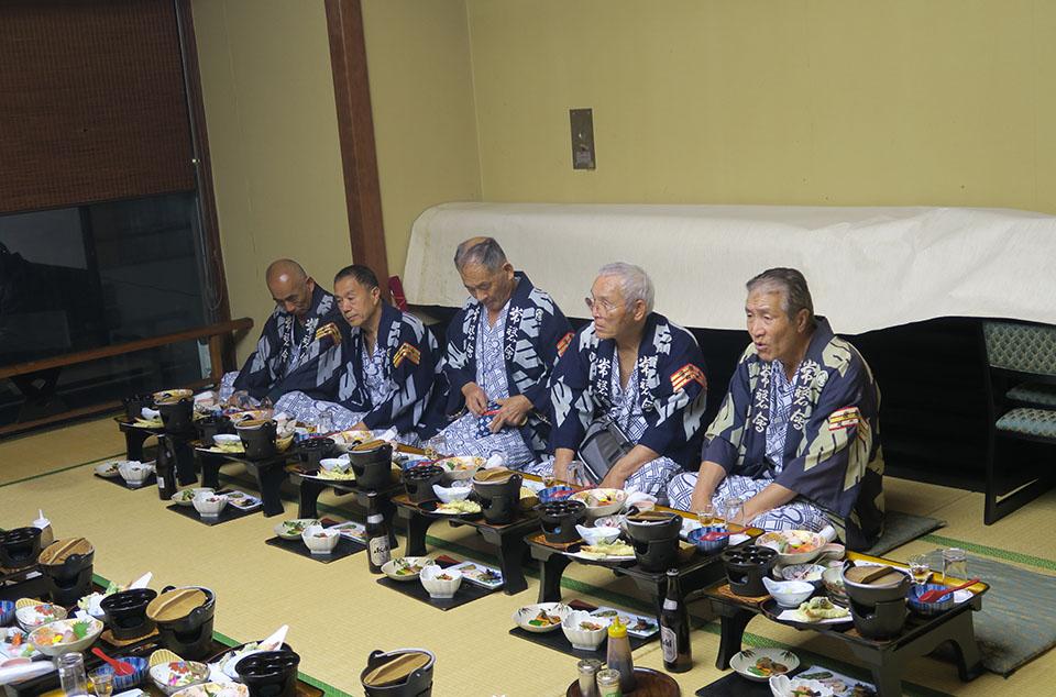 大阪市内にて一泊宴会