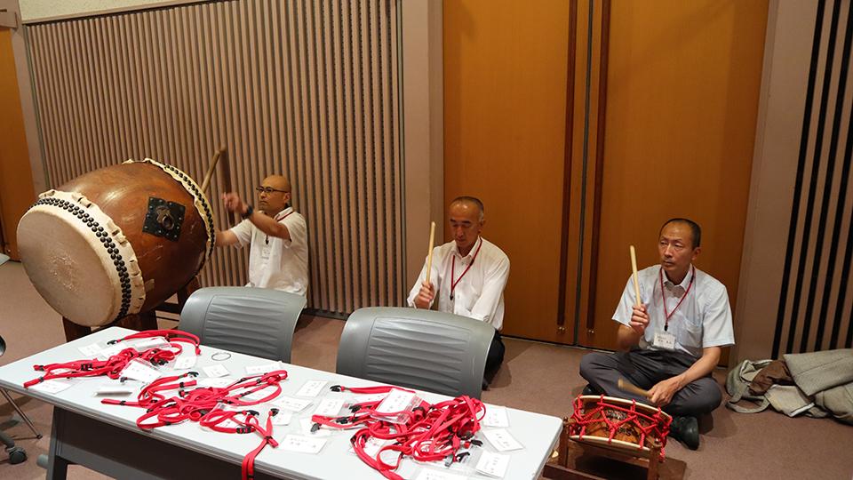令和元年7月の練習会にて