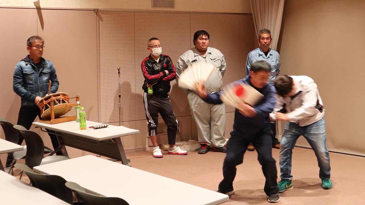 令和元年12月の手古舞練習風景1