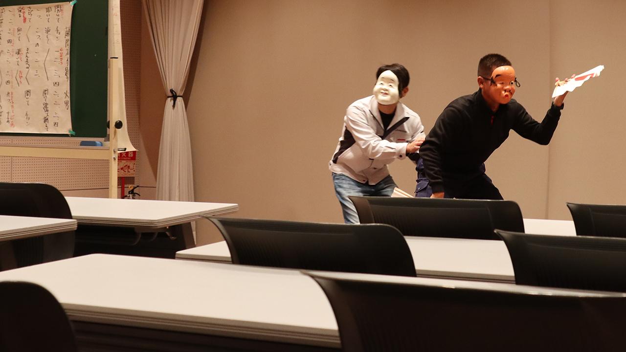 令和元年12月の手古舞練習風景12