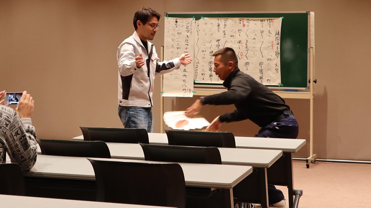 令和元年12月の手古舞練習風景5