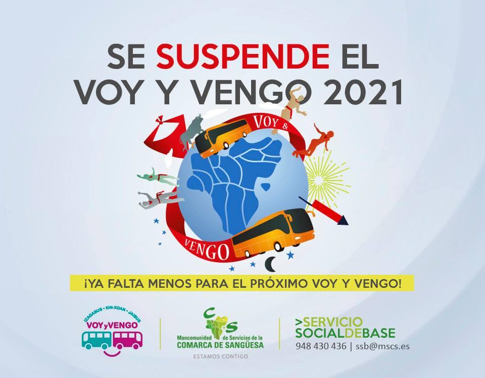 Se suspende el Voy y Vengo 2021, ¡YA FALTA MENOS PARA EL PRÓXIMO VOY Y VENGO!