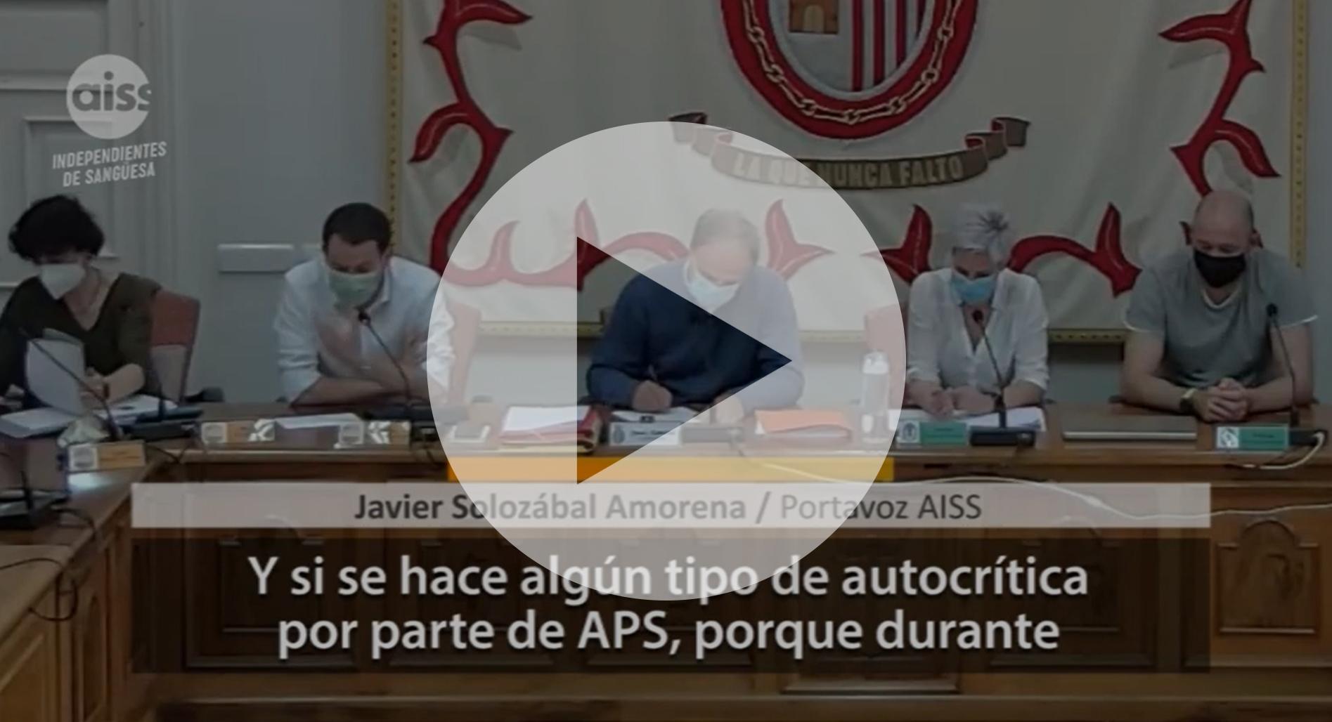 Nuevos vídeos de los plenos de abril y mayo de 2021: señalización, transporte, Cantolagua, pediatría y ginecología, sanciones a la Residencia Municipal...