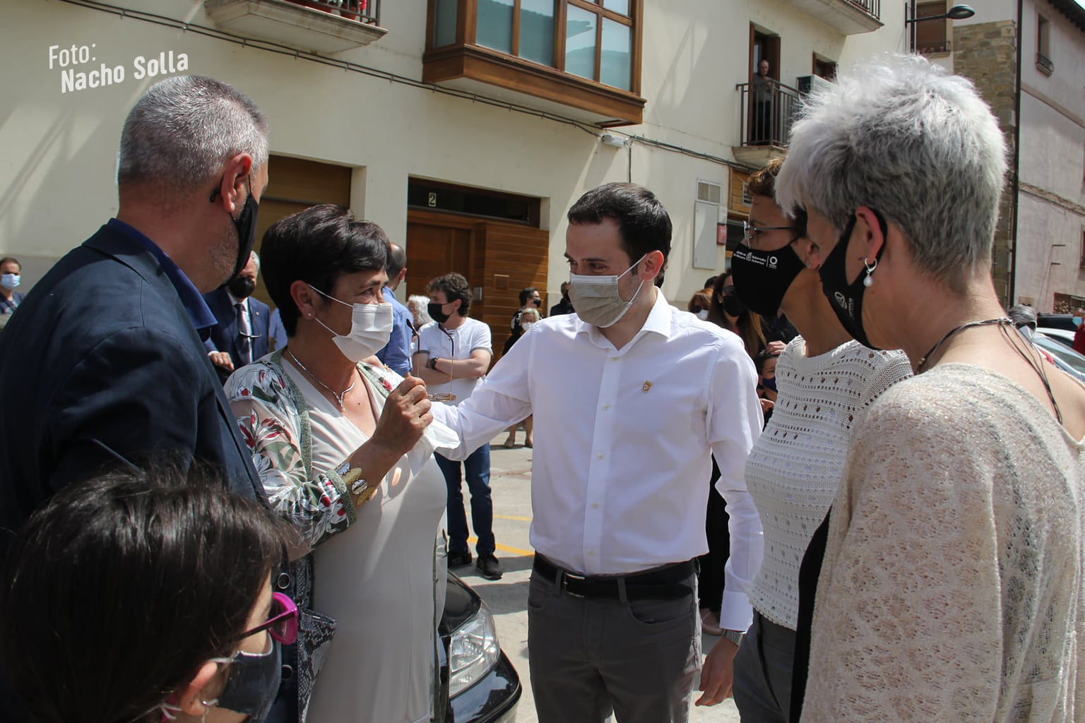 18 años de un asesinato sin resolver: Sangüesa no olvida a Julián Embid y a Bonifacio Martín