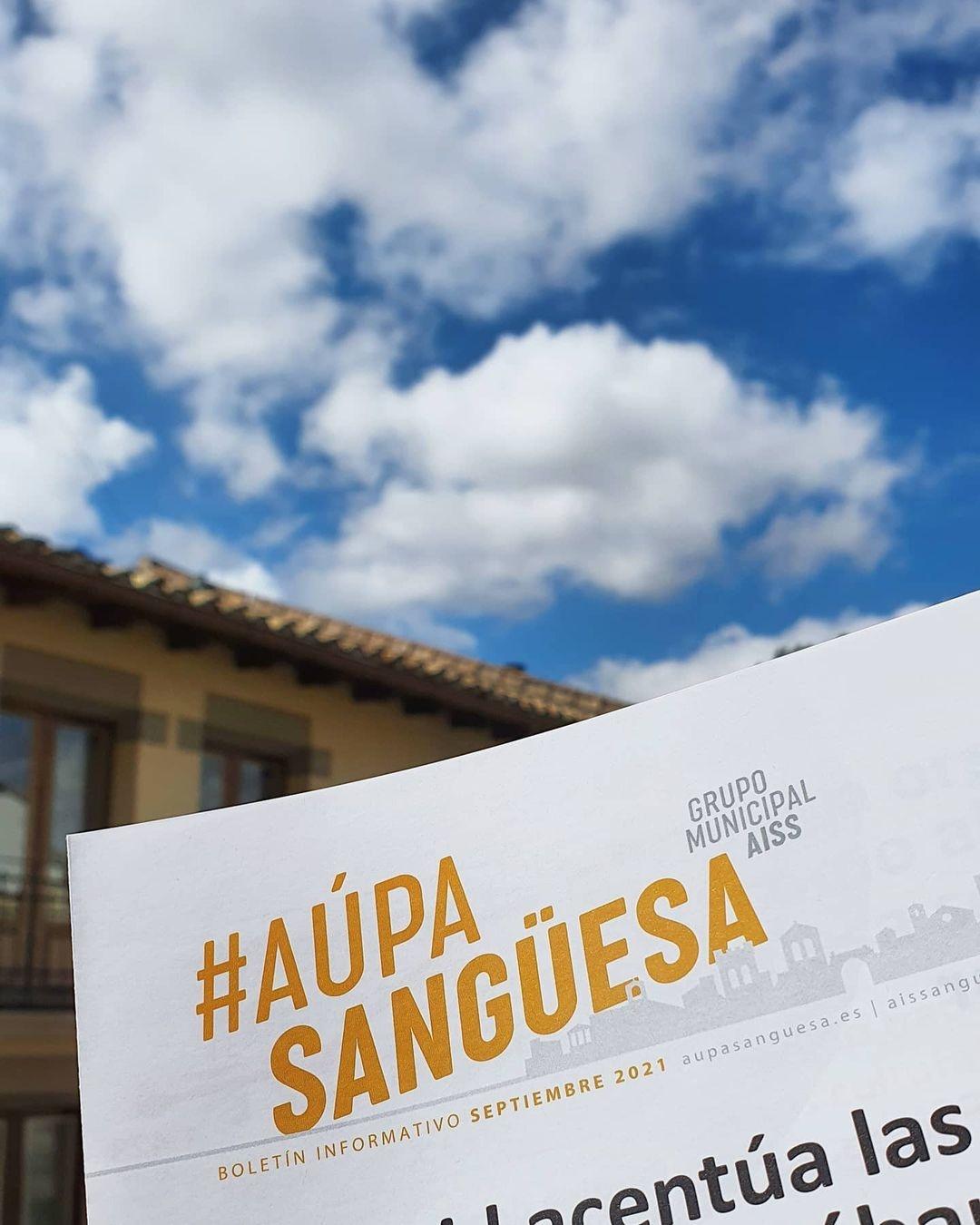 #AúpaSangüesa: nuevo boletín informativo del mes de septiembre de 2021