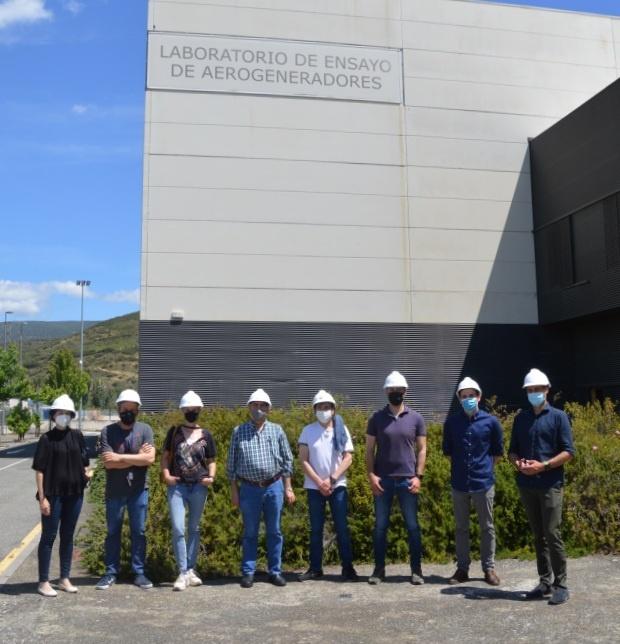 Visitamos las instalaciones que CENER tiene en Sangüesa