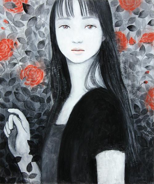 永遠 sold/2009 Acrylics gouache木製パネル