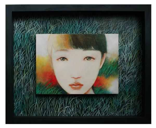 たまゆら 2013 Acrylics gouache木パネル八つサイズ