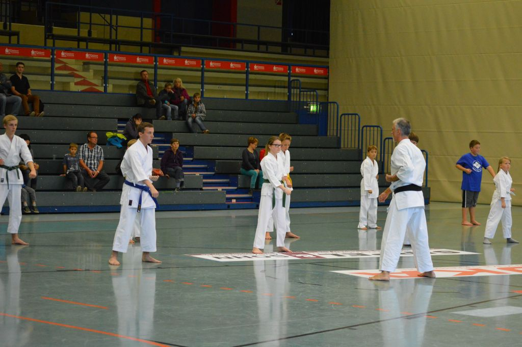 20 Jahre Karate in Lößnitz September 2014