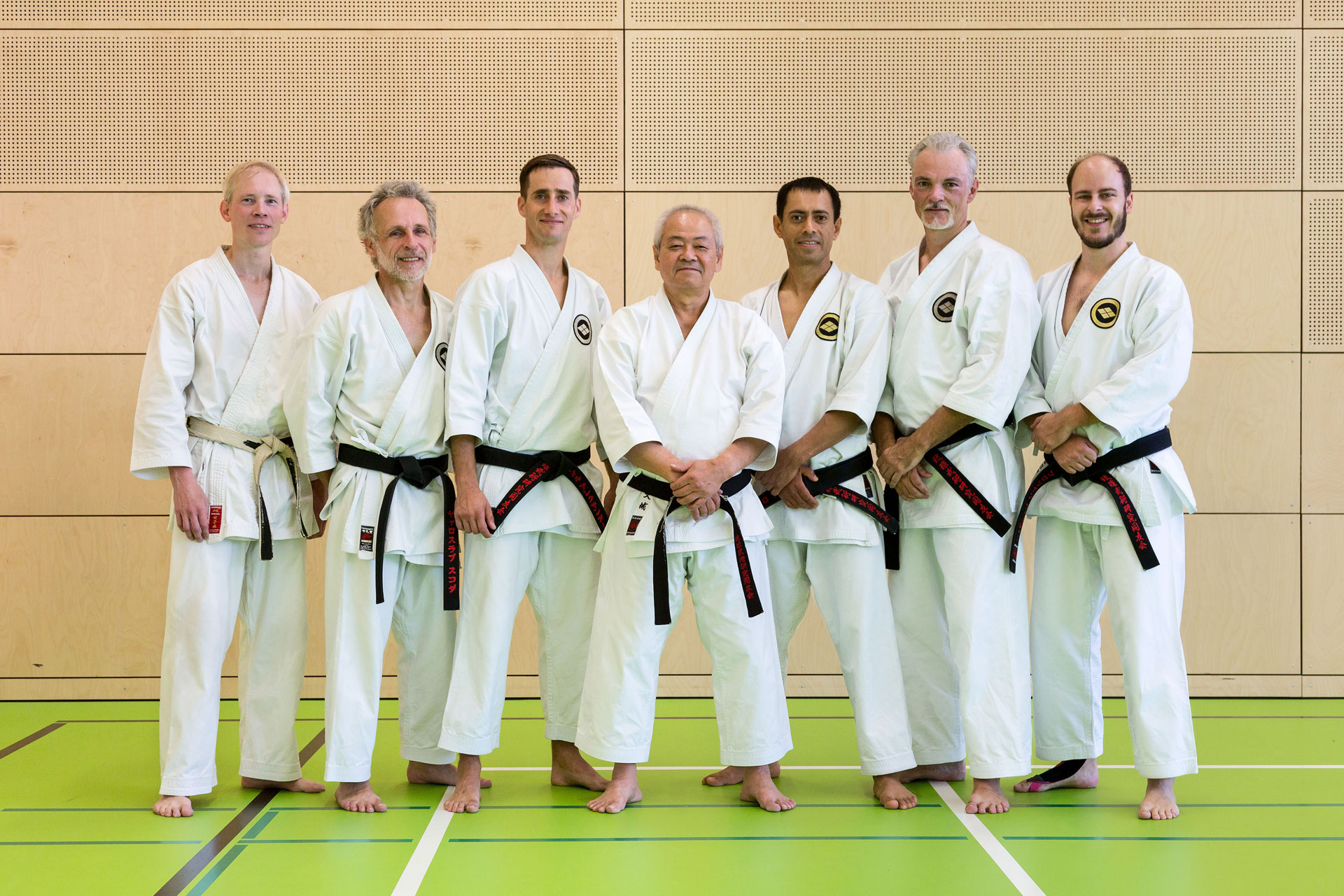 Privatraining in Straubing mit Shihan Oshiro September 2016