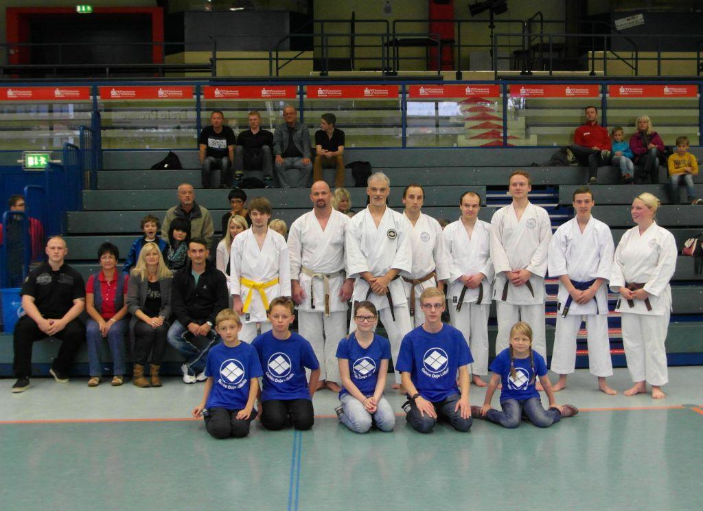 Veranstaltung 20 Jahre Karate in Lößnitz Sep. 2014