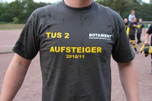 Meistershirt 2011 (Foto: Mannschaft).