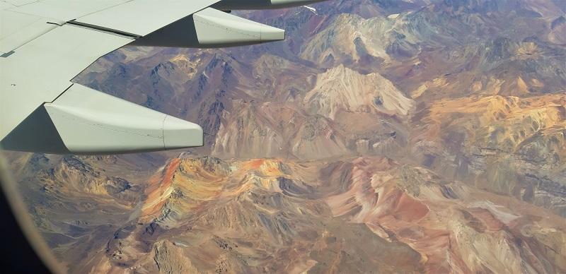Flug über Perú