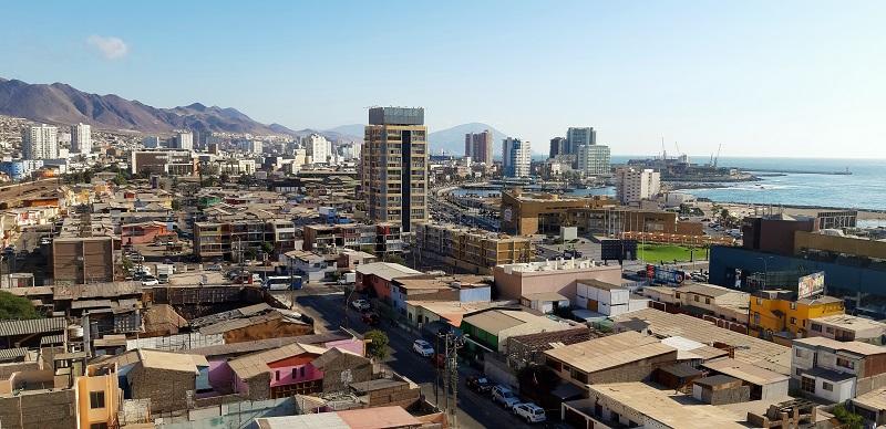....mit Blick auf Antofagasta