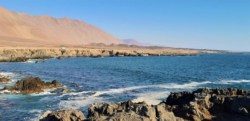An der Küste von Cobija
