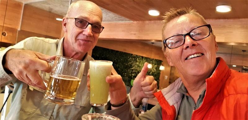 Endlich sind wir in La Paz
