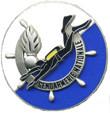 Аквалангист Национальной жандармерии. ЦЕНА 1000 руб.
