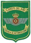 НАШИВКА. Автомобильная школа ВВС. ЦЕНА 200 руб.