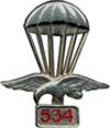 Знак за окончание парашютной школы. ЦЕНА 400 руб.
