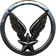 Беретный знак ВВС(серебряный). ЦЕНА 480 руб.