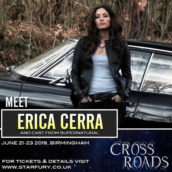 June 21-23, 2019 - Birmingham, UK. - Starfury Cross Roads - With Erica Cerra.