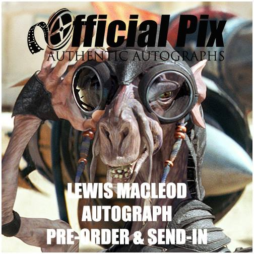 6/16/16 - Online - Private signing with Official Pix with Lewis MacLeod.
