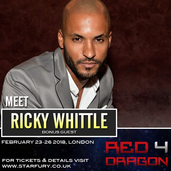 Feb 23-25, 2018 - London, England - Red Dragon 4 - With Ricky Whittle.