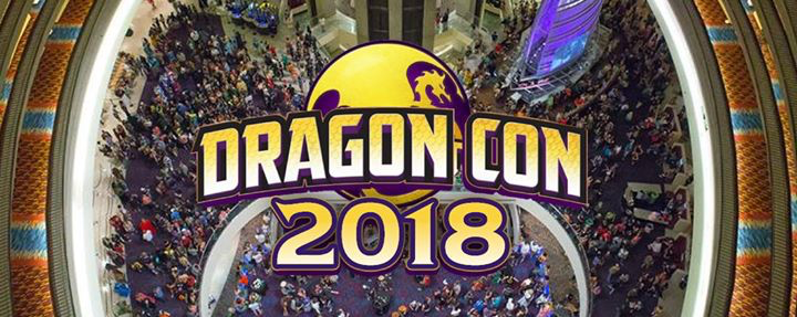 Aug 31-Sept 3, 2018 - Atlanta, GA. - Dragon Con - With Jessica Harmon, Erica Cerra, Chelsey Reist, Ricky Whittle, Bruce Langley and Demore Barnes.