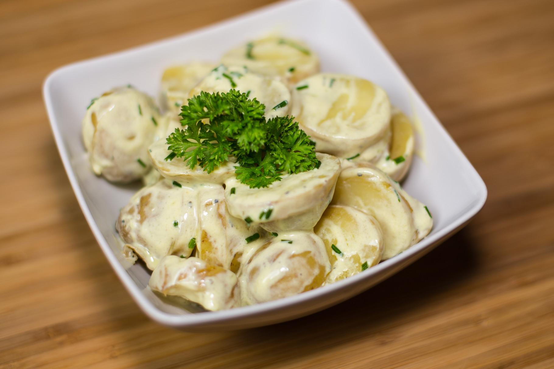 kartoffel salat rezepte f r steamer und dampfgarer foodblog. Black Bedroom Furniture Sets. Home Design Ideas