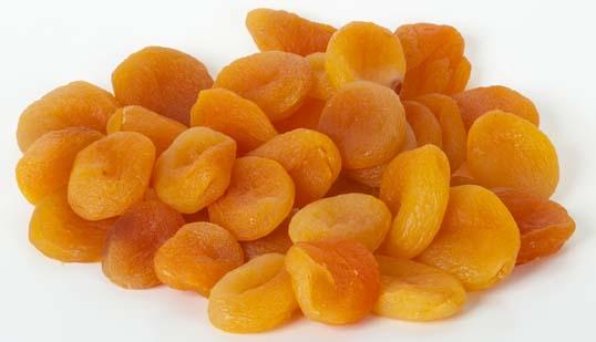 Abricots entiers dénoyautés