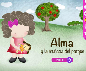 app aplicaciones gratis cuento alma y la muñeca del parque