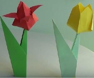 como hacer flores de papel invertirenfamilia.com