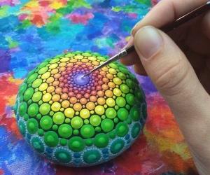 como pintar piedras y mandalas invertirenfamilia.com