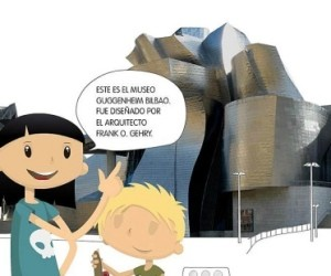 visita virtual niños museo guggenheim bilbao invertirenfamilia.com