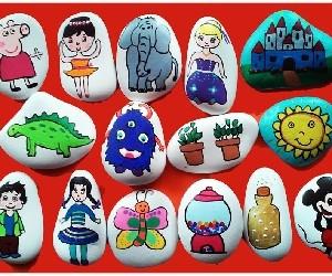 piedras pintadas a mano rachel delice invertirenfamilia.com