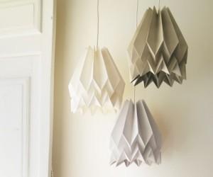 lámparas de papel hechas a mano invertirenfamilia.com