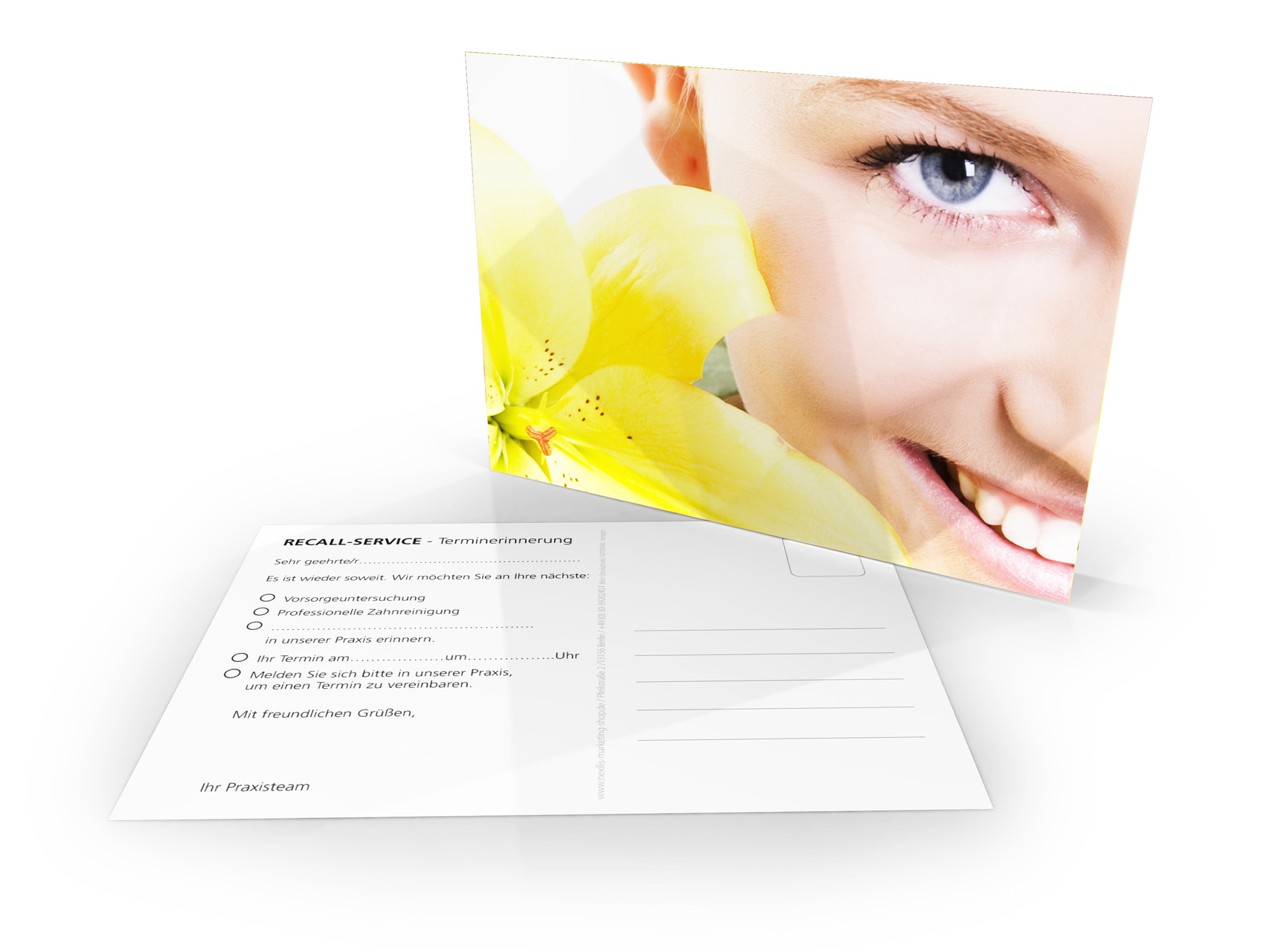 Recallkarten Zahnarzt