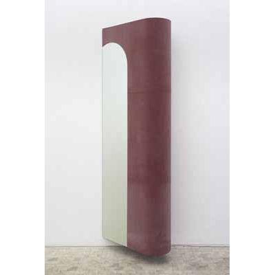 Thomas Karp, Erker, 1996, Wandobjekt, Spiegel, Gummi, Holz  © VG BILD-KUNST, Bonn 2018