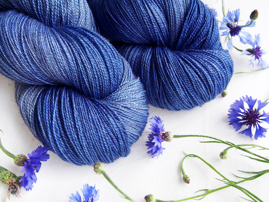 yak lace * true blue