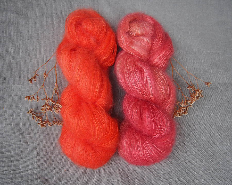 kidsilk mohair: melody and poppy