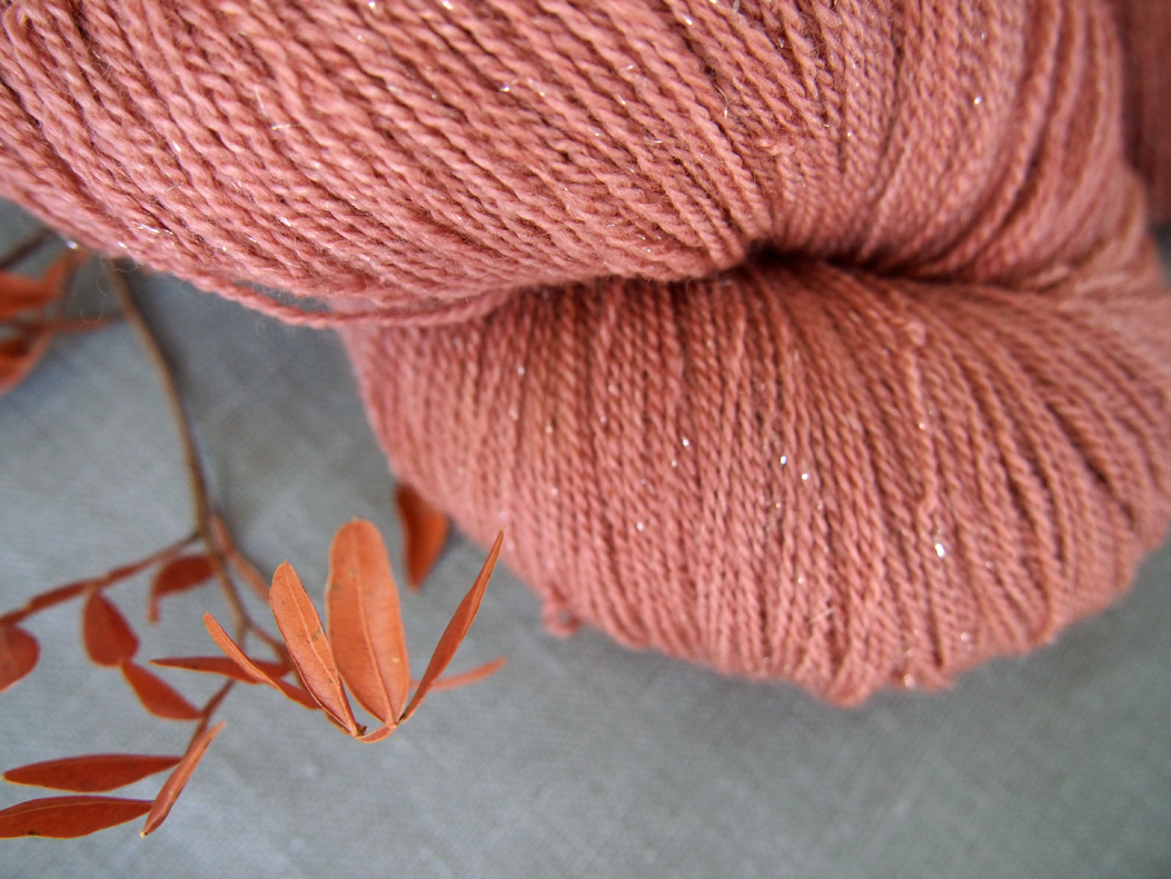 """sparkling angel lace """"salmon wood"""""""