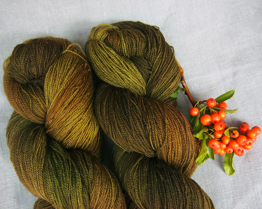 "BFL lace ""olive jungle"""