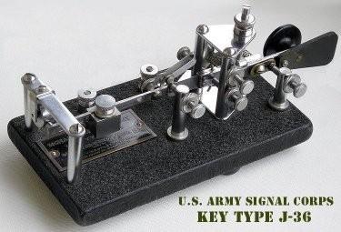 J-36 Vibroplex U.S. Army Signal Corps (circa 7500 pezzi)
