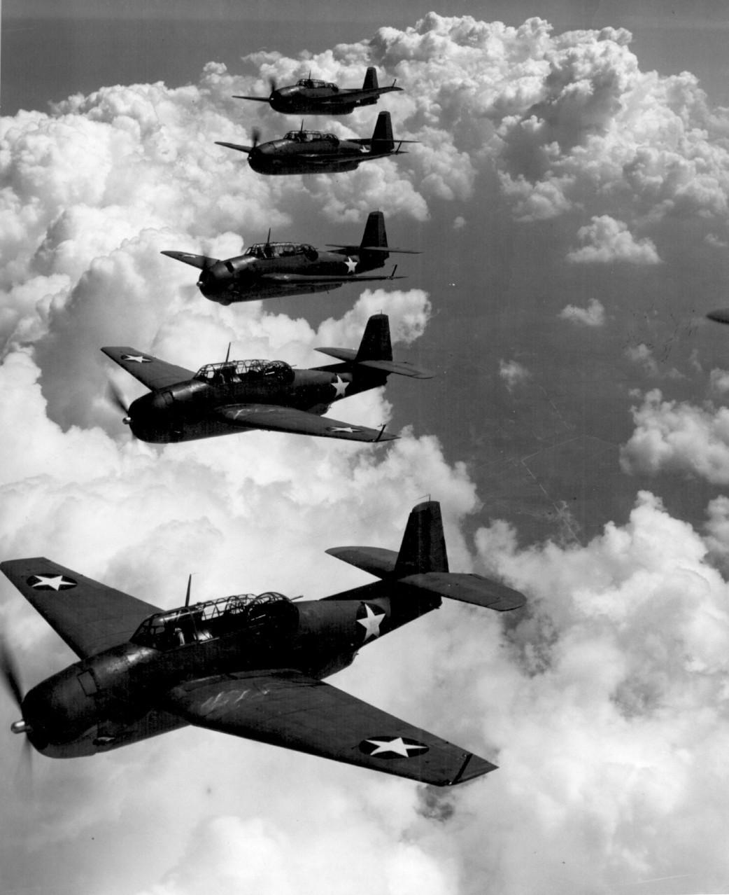 Bombarderos americanos.