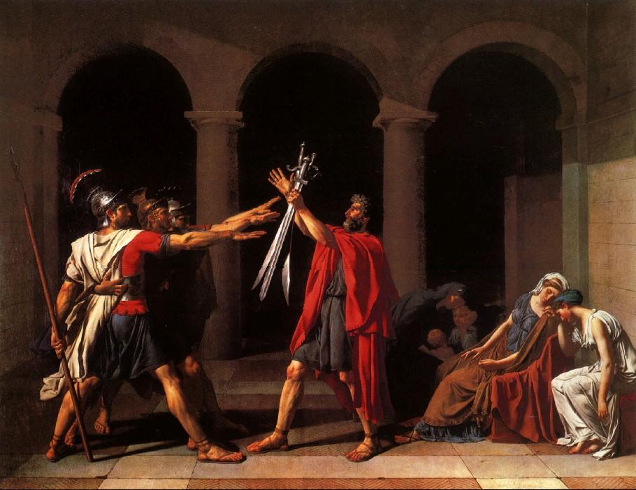 El juramento de los Horacios de David