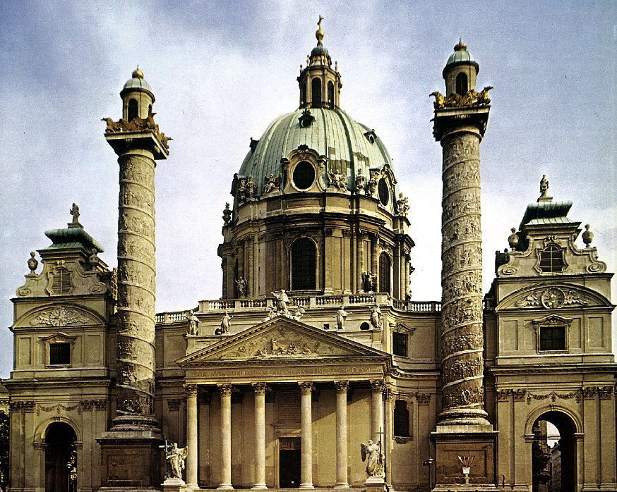 San Carlos Borromeo, Viena.