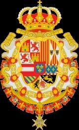 Escudo de los Borbones.