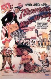 Cartel de Bienvenido Mr. Marshall (1953)